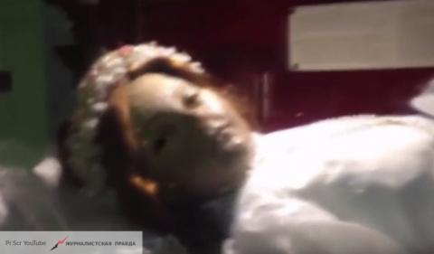 В Мексике 300-летняя мумия девочки открыла глаза