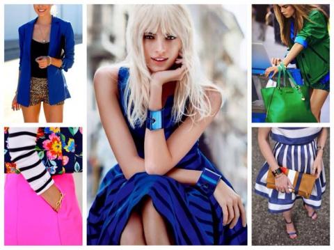 Богатство синего цвета: с чем сочетать в одежде