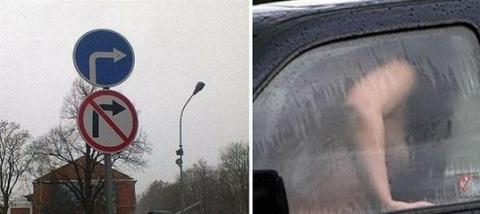 """Эти фотографии доказывают, что на дорогах с """"баяном"""" скучно не бывает…"""