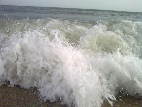 Любимое море.