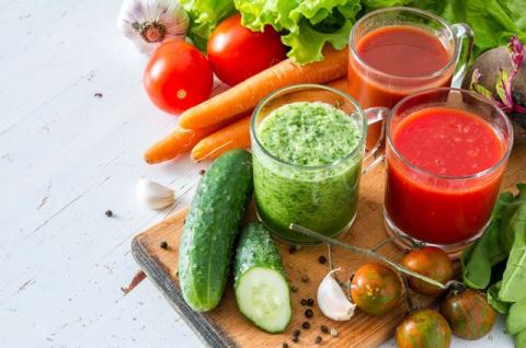 И вкусно и полезно: идеальные сочетания для овощных соков