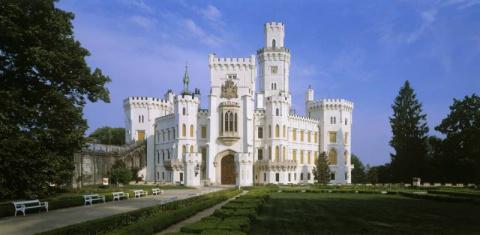 Замки Чехии: замок Глубока (…