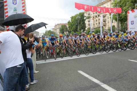Главная велогонка страны. Ho…
