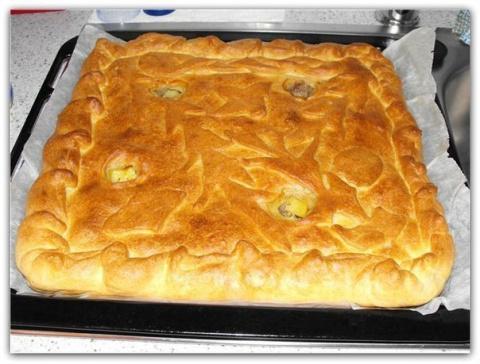 Вкусный и простой пирог с ка…