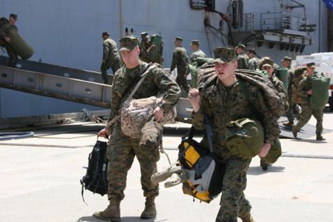 Доклад: военное присутствие …