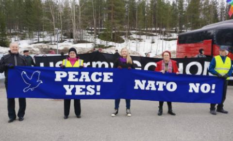 В Финляндии стартовали международные учения НАТО - пацифисты протестуют