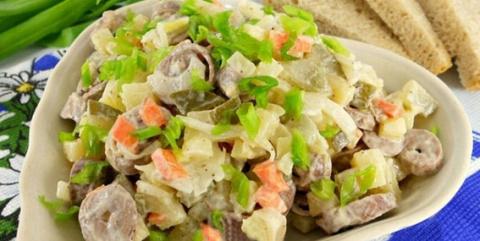 Вкуснейший салат из куриных …