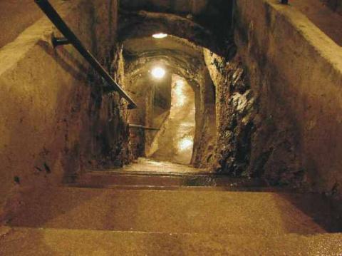 Не раскрытые тайны катакомб Йиглава