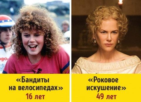 Как изменились актрисы со времен своих первых ролей