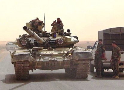 Т-90 в реальном бою предстал…