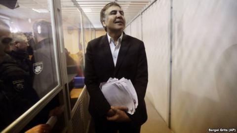 Саакашвили вновь на свободе!