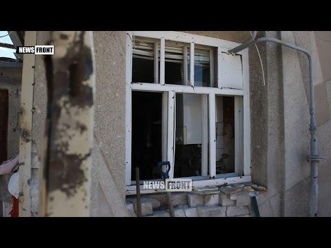 ВСУ обстреляли из артиллерии Стаханов, не давая жителям передышки даже на праздники