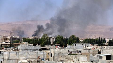 Сирийская армия штурмует пос…