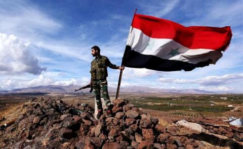 Русские герои-добровольцы в Сирии