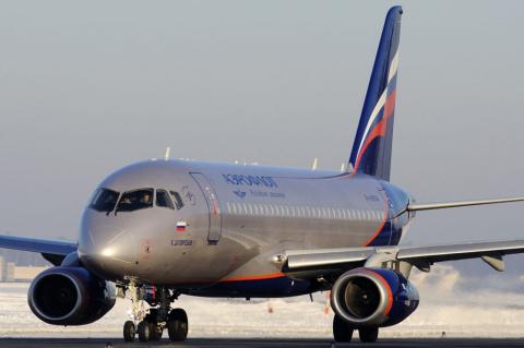 Sukhoi Superjet 100 совершил…