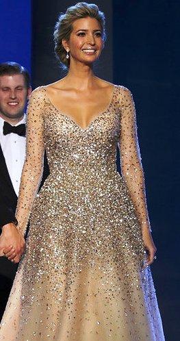 """Стиль """"первой принцессы США"""" Иванки Трамп — самые красивые платья для выхода в свет"""