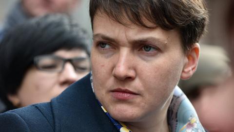 """Савченко заявила, что Европа неспособна назвать Россию """"агрессором"""""""