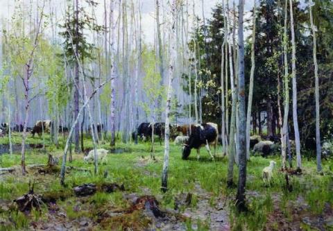 Выдающийся советский живописец Алексей Грицай