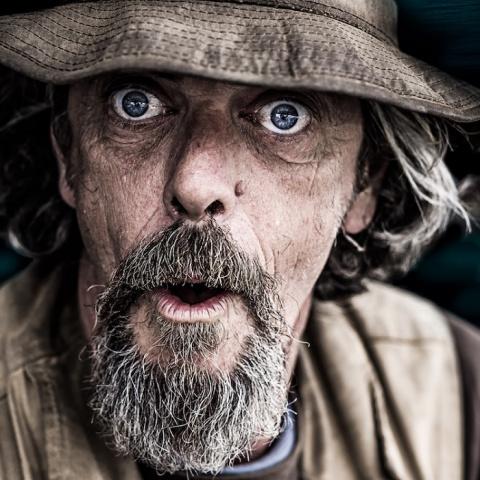 У них тоже есть душа... Мощнейшие портреты бездомных, которые берут за живое