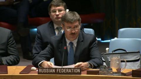 Петр Ильичев - врио постпреда России при ООН