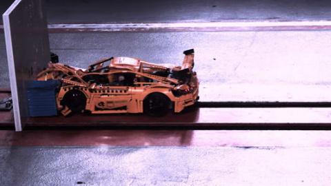 Краш-тест Porsche 911 Lego: …