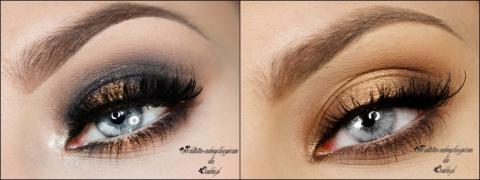 Как подчеркнуть серые глаза …