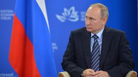 Заявление Путина о заморозке…
