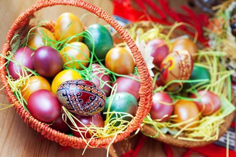 Раскраска пасхальных яиц! (личный опыт по каждому способу)