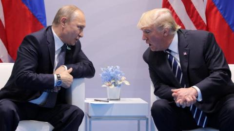 Трамп и Путин встречались на…