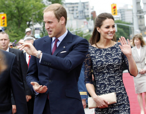 Герцогиня Кембриджская смеет…