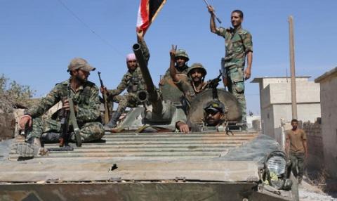 SANA: сирийская армия одержа…
