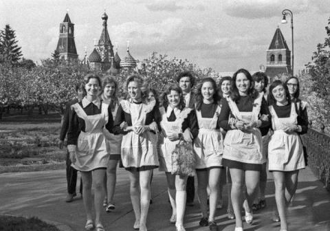 Выпускницы 1970-х. и 1980-х.