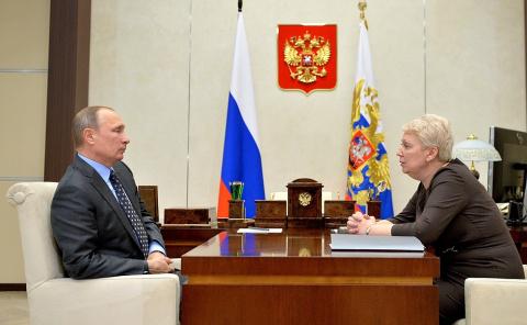 Путин встретился с министром…