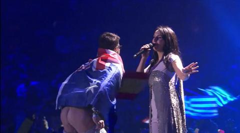 Лучший момент Евровидения ! ))