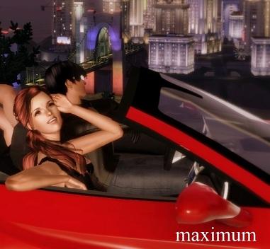 Набор поз Drive Tonight - Car Pose Pack от Maximum