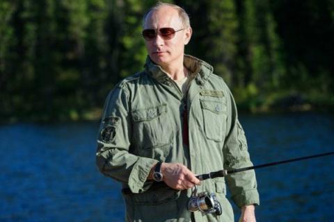 Путин после двух часов пресл…