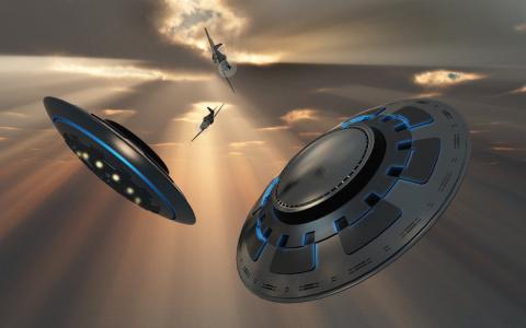 Странные исчезновения самолетов с одновременным наблюдением НЛО