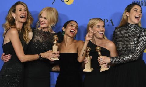 Total black: лучшие наряды Golden Globes 2018