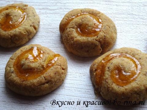 ВКУСНО И КРАСИВО. Ореховое печенье «Завитки»