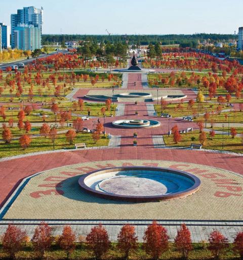 Когалым - 60-тысячный город в тайге