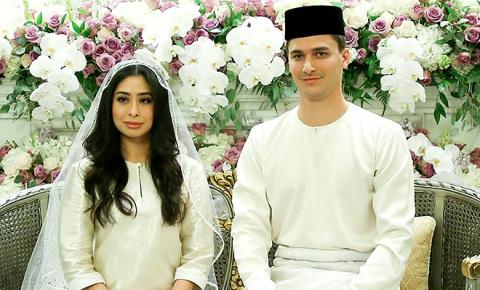 Принцесса Малайзии Амина вышла замуж за голландского футболиста, сменившего ради нее веру и имя