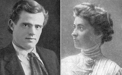 Джек Лондон и Анна Струнская…