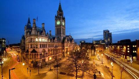 Манчестер — британский рай д…