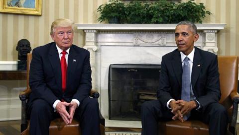 Трамп исключил возможность победы Обамы на выборах 2016 года