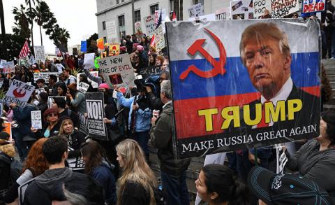 Отделением Калифорнии от США руководят из России