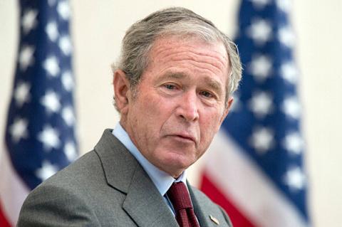 Картины маслом от Джорджа Буша