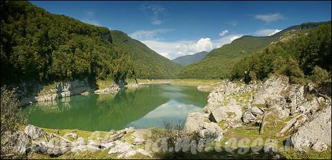 горы и водопады абхазии фото
