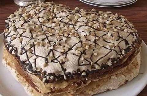 """Песочный торт """"Иван да Марья"""""""