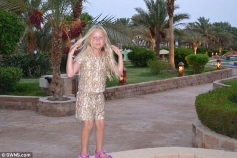 7-летняя девочка получила жу…