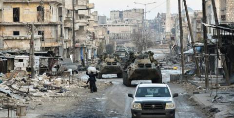 В Сирии погибли четверо воен…